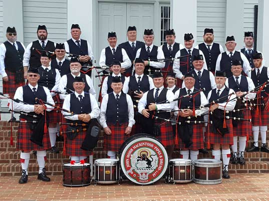John Mohr Mackintosh Pipes &amp Drums